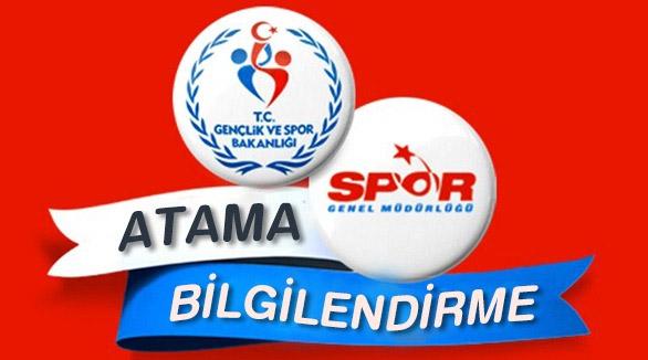 Gençlik ve Spor Bakanlığı 3200 Atama