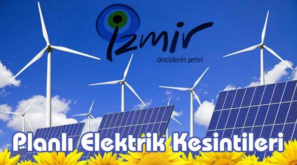 İzmir Elektrik Kesintileri