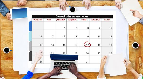 Önemli Gün ve Haftalar